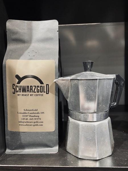 """SchwarzGold Kaffee """"Schwarze Tasse"""""""